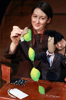 THE SECRET LIFE OF SUITCASES; Ailie Cohen, Puppet Maker